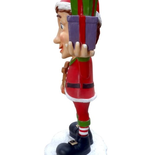 Papa Elf décor Noël