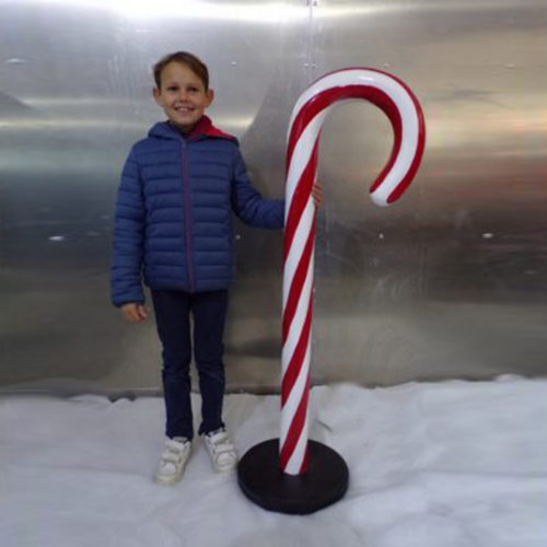 CANDY CANE RESIN CHRISTMAS