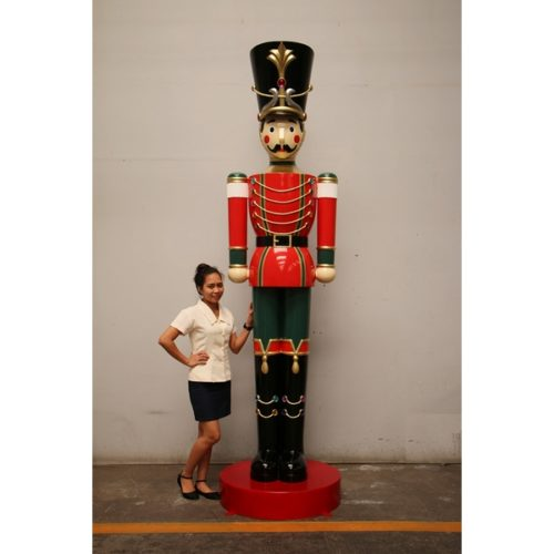 big nutcracker nlc deco