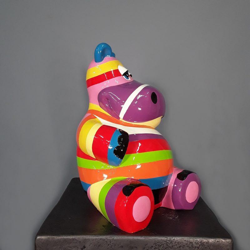 Hippopotame assis nlcdeco