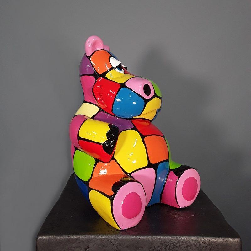 Hippopotame décoration moderne nlcdeco
