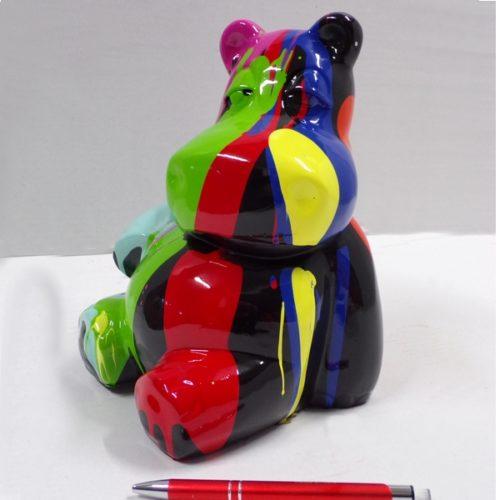 animaux en résine design couleur
