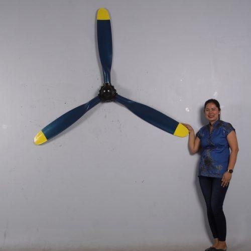 hélice avion décor murale