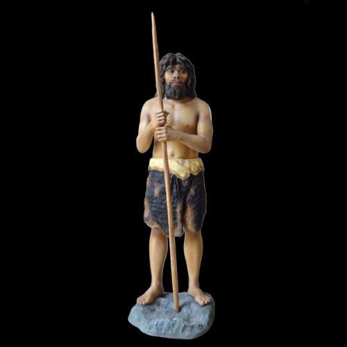 Homme préhistorique grandeur nature