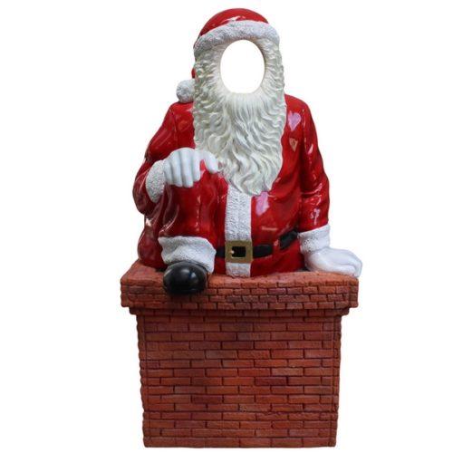 Père Noël photo call portrait