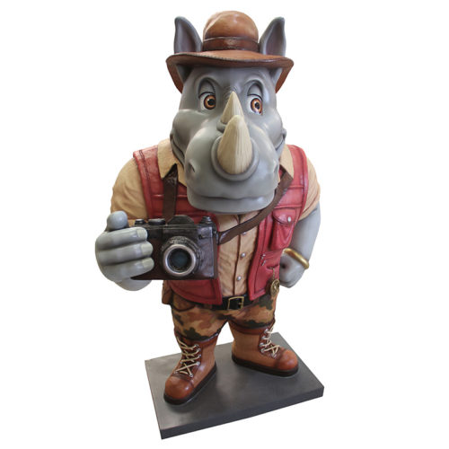 Rhinocéros explorateur NLC DECO