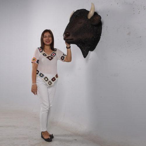 trophée-bison-factice nlc déco NLCDECO
