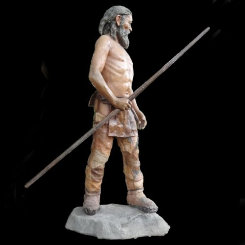 otzi homme préhistorique taille réelle