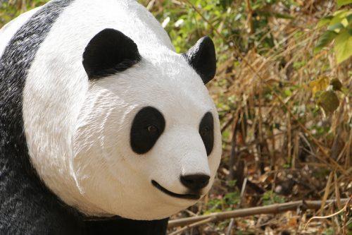 panda mannequin en résine