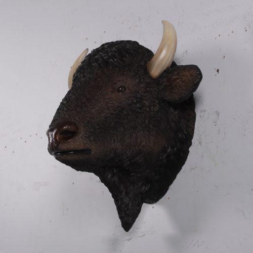 trophée bison factice