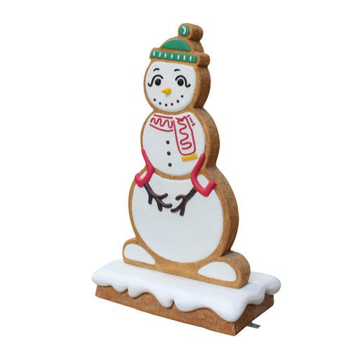 Bonhomme de neige pain d'épices F
