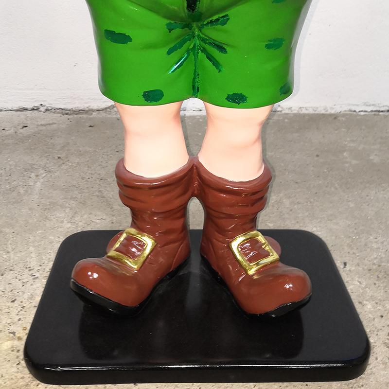 Elfe en short avec 2 cadeaux noel decoration nlcdeco deco lutin