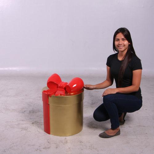 Paquet cadeau Or