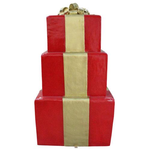 Paquets cadeaux empilées B