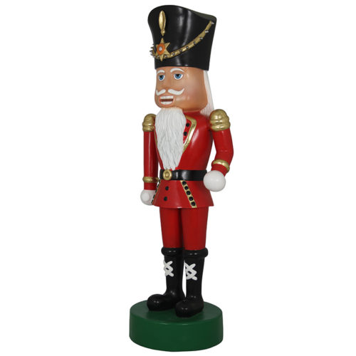 Soldat casse-noisette barbu