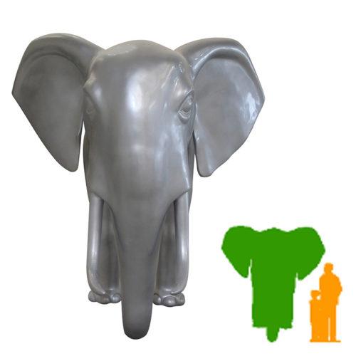 Éléphant déco mural Loxo NLC DECO