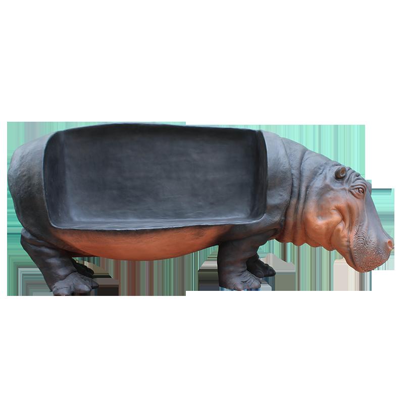 Banc Hippopotame nlc deco