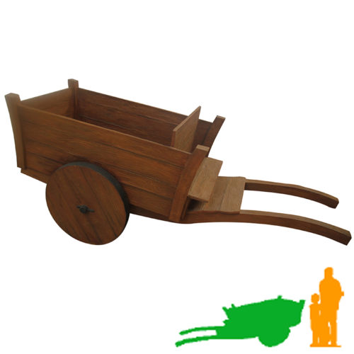 Chariot de ferme seul NLC DECO