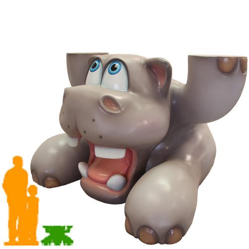 Hippo marrant qui porte nlc deco
