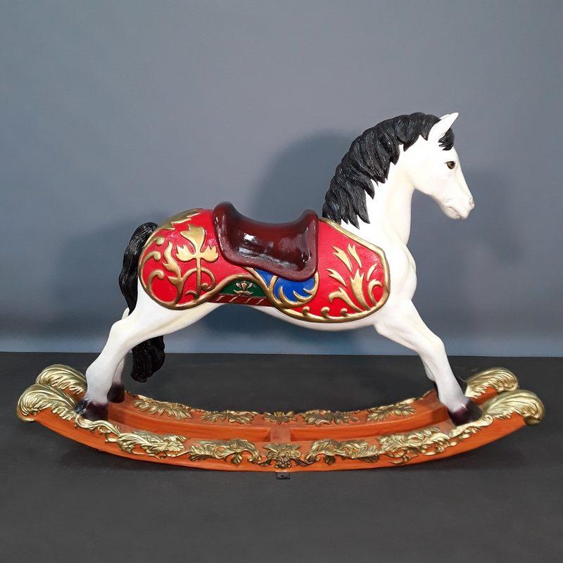 Jeux enfant cheval à bascule nlcdeco