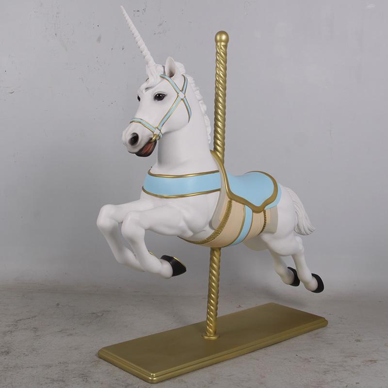 Licorne bleu manège