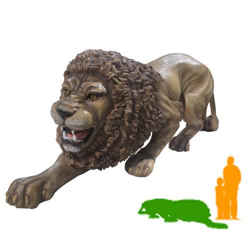 Lion accroupi NLC DECO