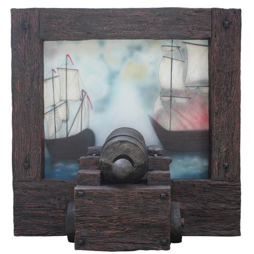 Tableau canon pirate NLC DECO