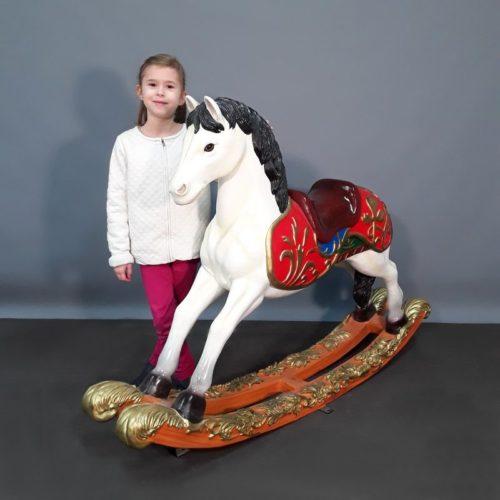 carrousel petit Cheval à bascule nlcdeco