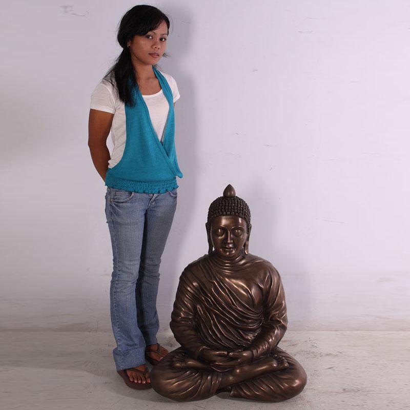 Bouddha bronze nlc deco