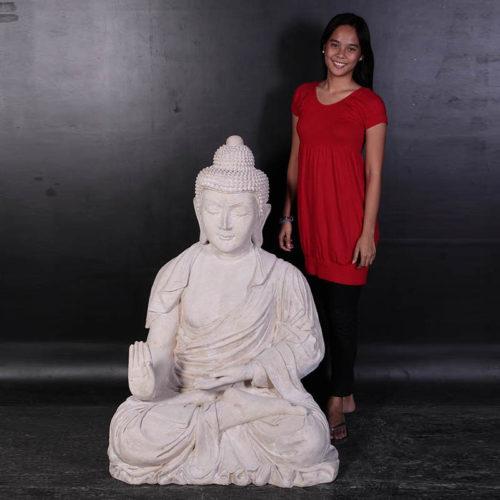 Bouddha pierre assis NLC DECO