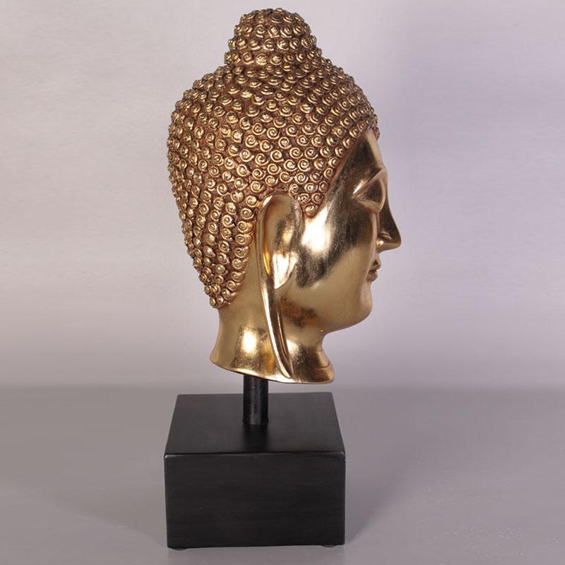 Tête de bouddha doré NLC DECO