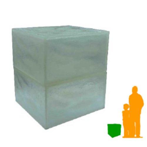 Tabouret bloc de glace NLC DECO