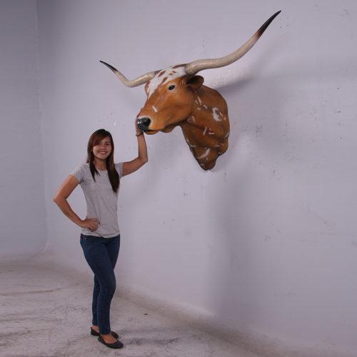 Trohée vache Texas longues cornes NLC DECO