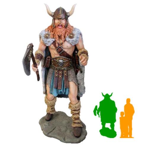 Viking Bjorn sur socle nlc deco