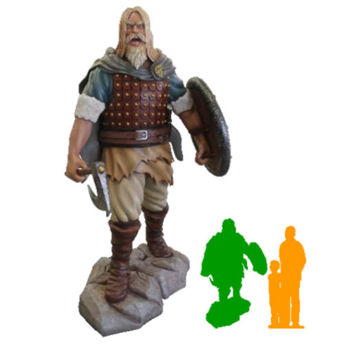 Viking Ragnar sur socle NLC DECO