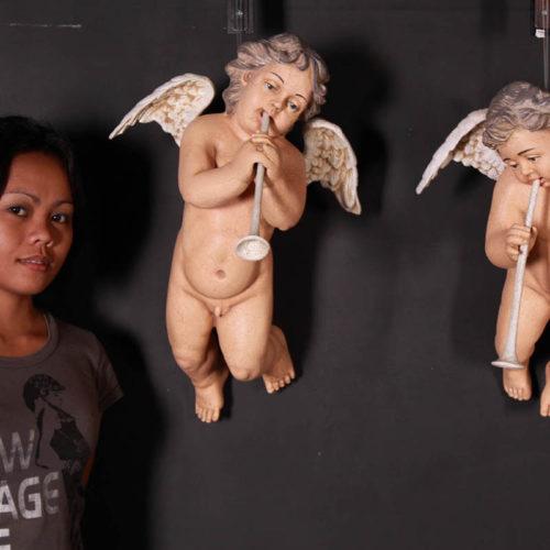 Anges Déco mural x2 nlc deco