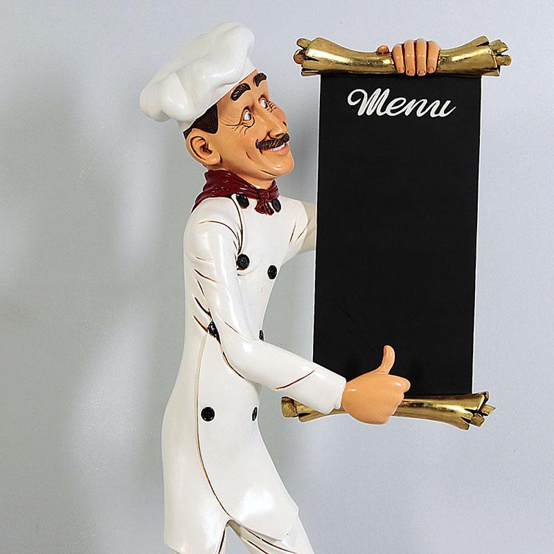 Chef porte-menu NLC DECO