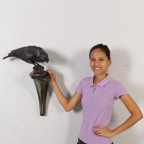 Corbeau ailes baissées NLC DECO