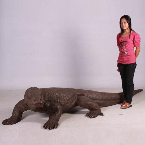 Dragon de Komodo finition bronze NLC DECO