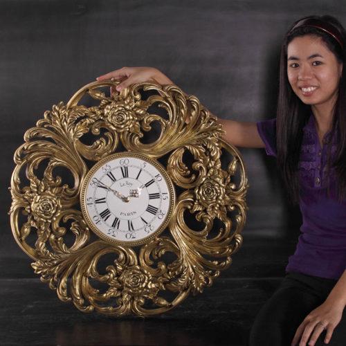 Horloge Roses NLC DECO