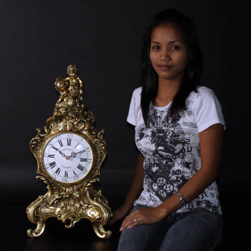 Horloge style Louis XV NLC DECO