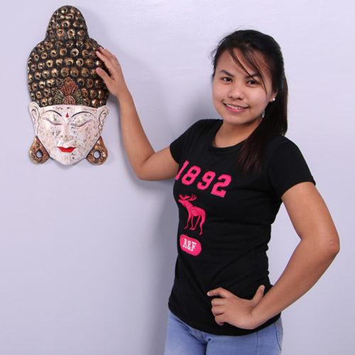Masque bouddha paix NLC DECO