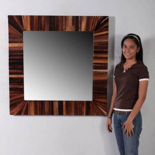 Miroir Abaca carré nlc deco