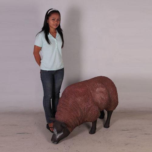 Mouton qui broute marron NLC DECO