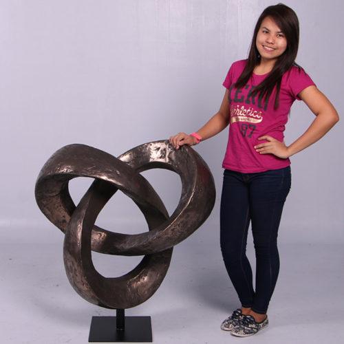 Sculpture Trifoil NLC DECO