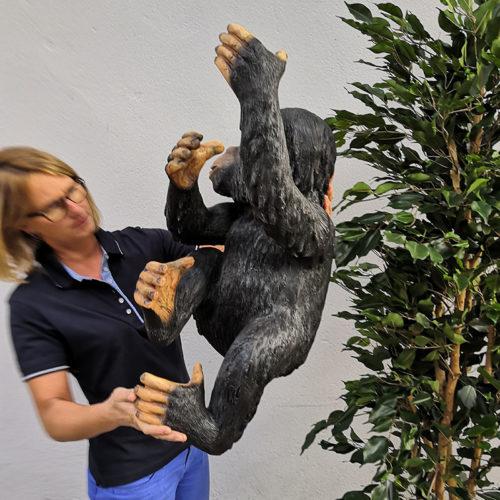 Singe Bing R253 nlcdeco animaux et decoration personnage en resine Chimpanzé (1)