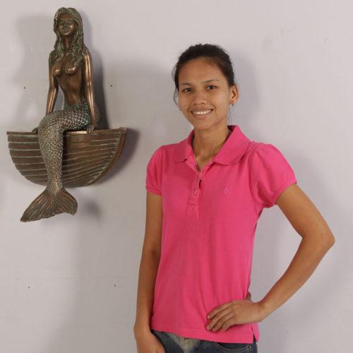 Sirène sur coque murale NLC DECO