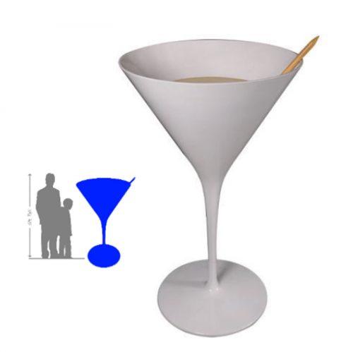 Verre a cocktail géant