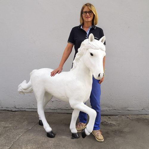 cheval petit modèle animaux en resine nlcdeco