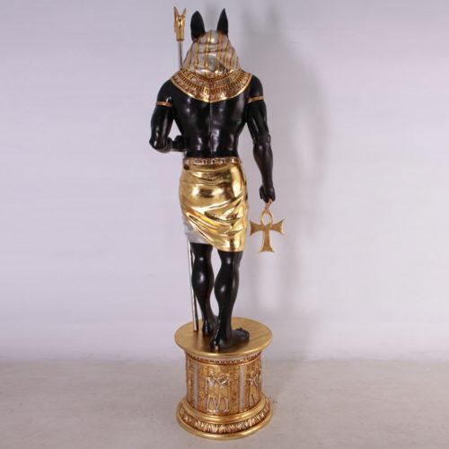 Anubis sur socle AFA6B EGYPTE NLC DECO NLC déco